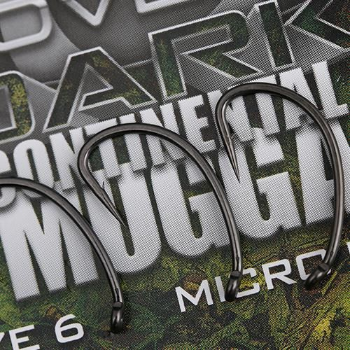 GARDNER COVERT DARK CONTINENTAL-MUGGA HOOKS BARBED