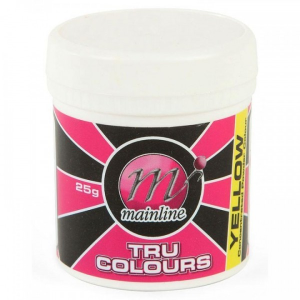 Mainline Powdered Dyes Yellow 25 gr