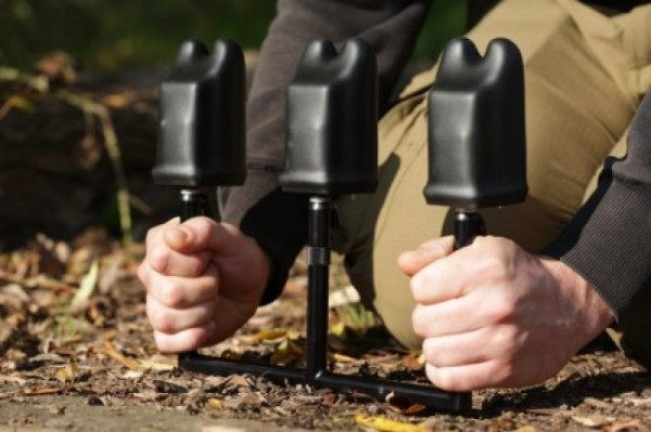 Korda Singlez Rod Buzzbar Aluminium - Black
