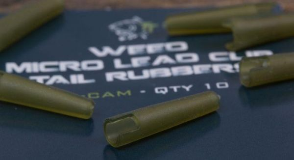 Nash WEED MICRO LEAD CLIP TAIL RUBBERS