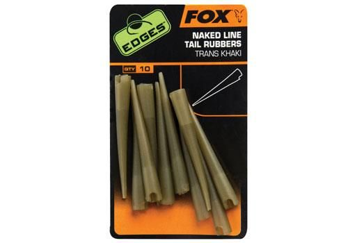 Fox Power Grip naked line tail rubbers size 7 x 10