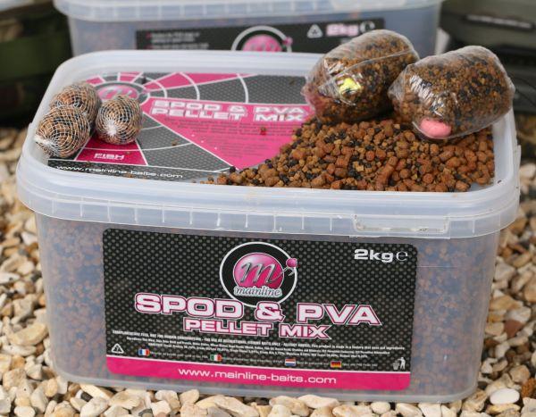 Spod und PVA Pellet Mix Assorted flavours 2 kg