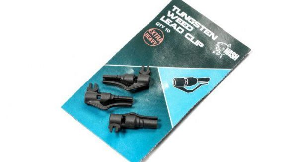 Nash Tungsten Weed Lead Clip NEW